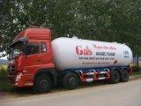 중국은 좋은 판매 36m3 15t LPG 배급 유조 트럭을 만든다
