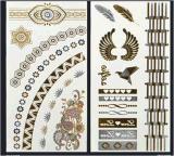 Etiqueta provisória à moda do tatuagem da arte das etiquetas do tatuagem da jóia