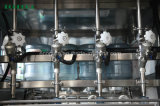 bouteille 5gallon rinçant la machine recouvrante remplissante 600bph