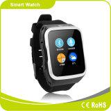 3G WiFi Bluetooth Smartwatch de carte SIM de support de CPU de Quarte-Faisceau du SYSTÈME D'EXPLOITATION 1.3G de l'androïde 5.1