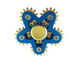 Engranaje del juguete 6 de la persona agitada del hilandero de la mano de la aleación de aluminio