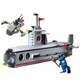 Militärserien-Plastikunterseeboot blockt Spielzeug für Kinder