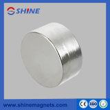 D50X20mm Nickel überzogener NdFeB Zylinder-Magnet