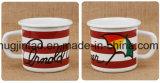 Caneca feita sob encomenda do presente da caneca do leite Caneca de café da caneca de café do esmalte 8/9/10/11 / 12cm