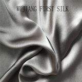 Tecido de cetim de algodão de seda