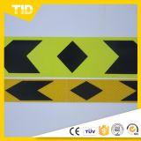 Горячая продажа зеленый желтый черная стрелка отражательная наклейка с автомобиля