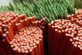 オレンジガラスガラス繊維の反射テープが付いている紫外線保護私道のマーカー