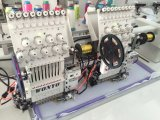 2 رئيسيّة حاسوب تطريز آلة مع [سقوين] تطريز
