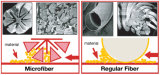 Panno di lucidatura di Microfiber della peluche di lusso (YYMP-320)