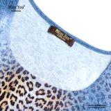 Платье печати леопарда низкой цены Miss Вы Ailinna 801053-2 флористическое