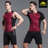 رجال [تركسويت] رياضة [تيغت] قميص نشطة ضغطة دباب