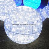 luces de la decoración de la bola de la Navidad de los 45cm LED para la demostración ligera
