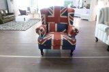 Presidenza domestica moderna della mobilia con tessuto per il salone