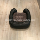 Prodotti di cuoio di lusso della base di sofà del gatto del cane di Beb del sofà dell'animale domestico dell'OEM della fabbrica