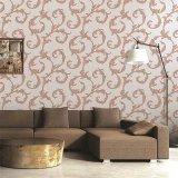 Papel pintado colorido para el papel pintado del PVC de la decoración casera
