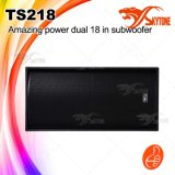 """Verdoppeln erstaunliche Energie Ts218 18 """" Subwoofer der Lautsprecher-Kasten"""