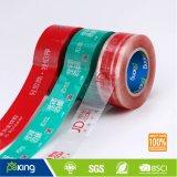 Fita impressa da embalagem da caixa de BOPP de China