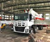 pompa per calcestruzzo camion-montata ISUZU di 48/52M, camion della pompa per calcestruzzo