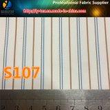 Покрашенная пряжей ткань полиэфира нашивки подкладки втулки для костюма/одежды (S104.107)