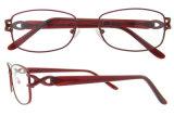 Dame-Schauspiel-Augen-Glas-moderne optischer Rahmen-Titanbrille-Rahmen
