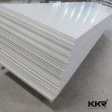 Superficie solida acrilica di colore bianco del ghiacciaio