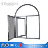 Openslaand raam van de Spil van het Aluminium van de Leverancier van China het Gouden