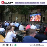 La publicité extérieure d'intérieur ultra-légère de location de RVB fixe installent l'écran d'affichage vidéo de panneau de DEL pour l'usage d'étape