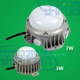 Fonte de luz com ponto de LED impermeável a cores Full Color