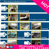 Os ricos fizeram no engranzamento da lista de preço Ss316 do engranzamento de fio do aço inoxidável de China 304