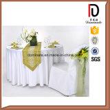 高品質安く新しいデザインColorfuleの結婚式の椅子表の衣服カバー