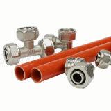 Ajustage de précision de laiton/vis pour les pipes multicouche de Pex-Al-Pex