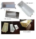 Transporte plástico da cubeta para o uso da indústria alimentar