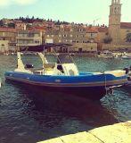 Barco de navigação inflável motorizado 16persons do reforço de Liya 24.6FT Hypalon (HYP750)