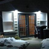 Indicatore luminoso economizzatore d'energia del sensore solare della lampada da parete della galleria del corpo del cortile