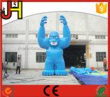 Fumetto gonfiabile della gorilla per fare pubblicità