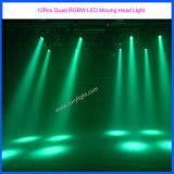 Éclairage mobile sonore de la tête Party/DJ/Event de la lumière 12PCS DEL d'Osram
