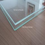 3,2 mm de Super claro vidrio flotado templado bajo el hierro para paneles solares