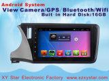 Automobile Android DVD di percorso del sistema GPS per lo schermo di capacità della città 10.1inch della Honda con WiFi/TV/Bluetooth