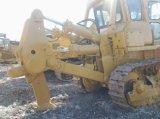 Escavadora japonesa usada da esteira rolante de KOMATSU D155A da escavadora do trator com estripador