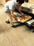 Horno de la torta de la panadería del gas de la capacidad de Largy (103Q)