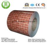 Aluminio (prepintado) cubierto color para el material del material para techos y de la pared