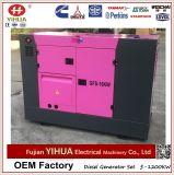 10-30kVA de naar huis Gebruikte Super ultra Stille Diesel die Denyo Reeks van de Generator door Cummins wordt aangedreven