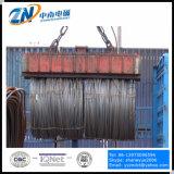 Ímã de elevação retangular para elevação da bobina de fios em vez de gancho C usando MW19-42072L/1