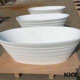 Neuer Entwurfs-feste Oberflächenfreistehende Bad-acrylsauersteinwannen (TB170810)