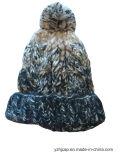 شتاء قبّعة أكريليكيّ جاكار [بني] قبّعة عادة [نيت] قبّعة [بوم] [بوم] [بني] قبّعة