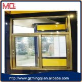 Alemán de aluminio doble acristalamiento de la ventana