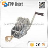 Treuil de main de câble métallique de qualité avec le frein automatique