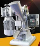 Máquina de Pressão Manual Single Punch Tablet para Pill / Salt / Candy com Operação / Luz da Mão