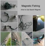 Pesca magnetica che cerca magnete