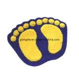 Tapete de chão, feito de Chenila, Símbolo do Coração